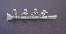 Federation mid-tech Infantry Fighting Poses