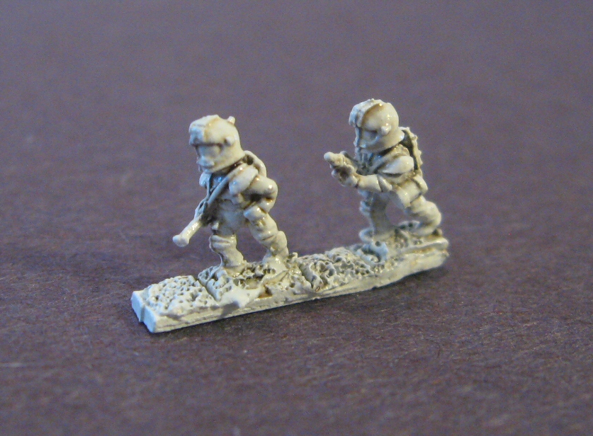 6mm Dark Star Sci-fi range- Federation - Darkest Star Games